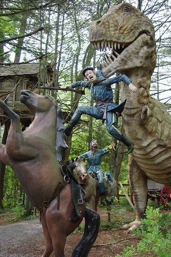 Happy Independence Day! (Dinosaurs fought the Civil War)