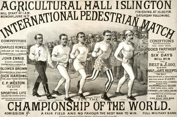 Episode 159: Dollop: Pedestrianism