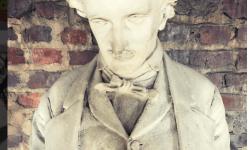 Poe bust Carla Hufstedler