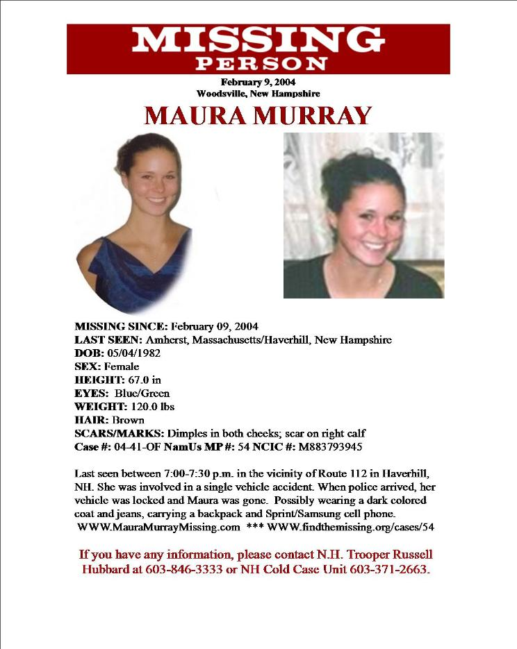Maura Murray missing poster