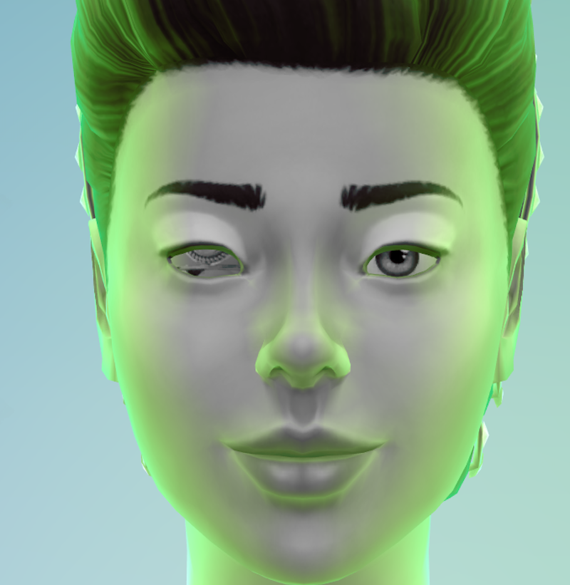 Eve's eye damage